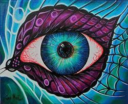 Art: Gothic Eye by Artist Javier Martinez