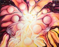 Art: Soul Explosion by Artist Doe-Lyn