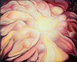 Art: Soul Flow by Artist Doe-Lyn