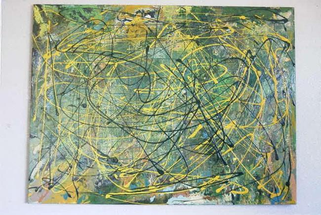 Art: PILGRAMAGE (SOLD) by Artist Dawn Hough Sebaugh