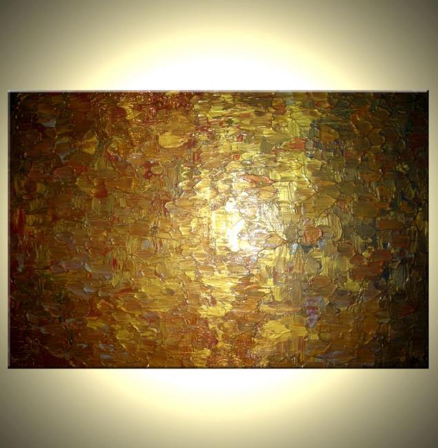 Art: GOLDEN FALLS by Artist Daniel J Lafferty