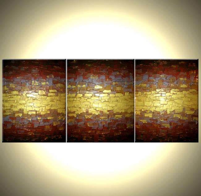 Magnificent Metallic Canvas Wall Art Photo - Wall Art Design ...