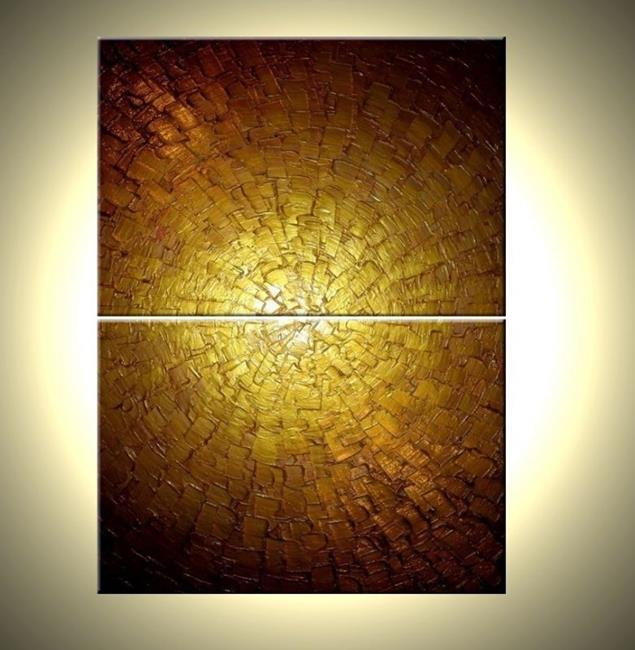 Gallery For gt Gold Abstract Paintings