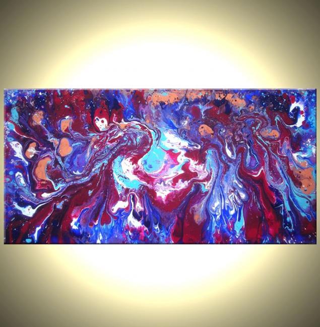 Art: INDIGO DREAMS by Artist Daniel J Lafferty