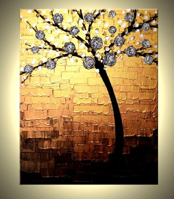 Art: BLOSSOM DAWN REFLECTIONS by Artist Daniel J Lafferty