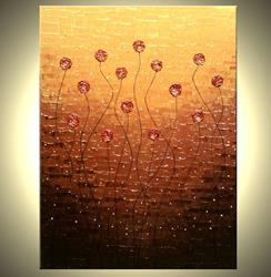 Art: ROSES AT SUNSET by Artist Daniel J Lafferty