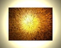 Art: VISION OF GOLD by Artist Daniel J Lafferty