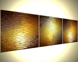 Art: SCATTERED REFLECTIONS by Artist Daniel J Lafferty
