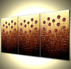 Art: SUNSET ROSE BLOSSOMS by Artist Daniel J Lafferty