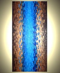 Art: DIVIDED REFLECTION by Artist Daniel J Lafferty