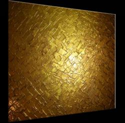 Art: GOLD REFLECTIONS by Artist Daniel J Lafferty