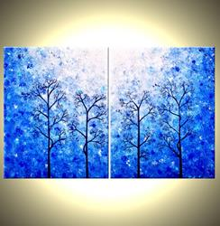 Art: MEMORIES OF SPRING by Artist Daniel J Lafferty