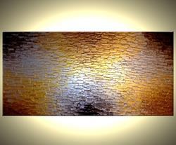 Art: Along The Path Of Gold 24x48 by Artist Daniel J Lafferty