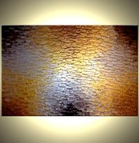 Art: Along The Path Of Gold by Artist Daniel J Lafferty
