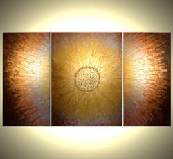 Art: GOLDEN REFLECTIONS by Artist Daniel J Lafferty