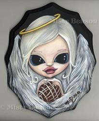 Art: Divine Delivery -- Candy Show by Artist Misty Benson