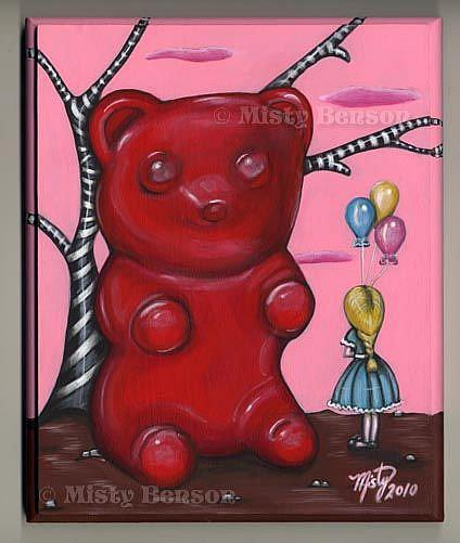Art: Oh Great Gummy... -- Candy Show by Artist Misty Monster (Benson)