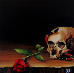 Art: Dying For Beauty by Artist Christine E. S. Code ~CES~