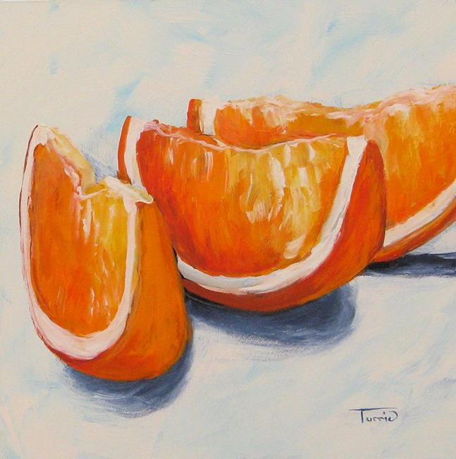 Art: Orange Wedges by Artist Torrie Smiley