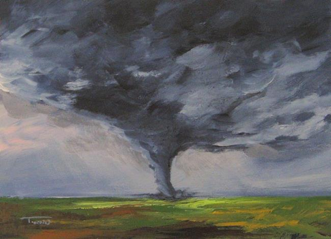 Art: Tornado VIII by Artist Torrie Smiley