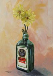 Art: Drunk Daisies by Artist Torrie Smiley
