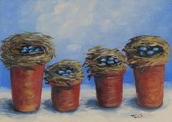Art: The Nest Garden by Artist Torrie Smiley