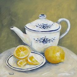 Art: Time for Tea by Artist Torrie Smiley