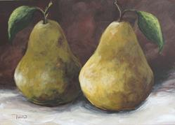 Art: Lucky Pears II by Artist Torrie Smiley
