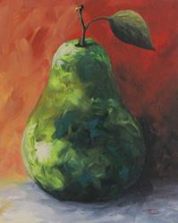 Art: Crazy Pear by Artist Torrie Smiley