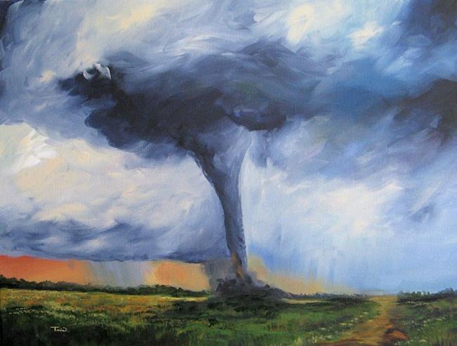 Art: Tornado by Artist Torrie Smiley