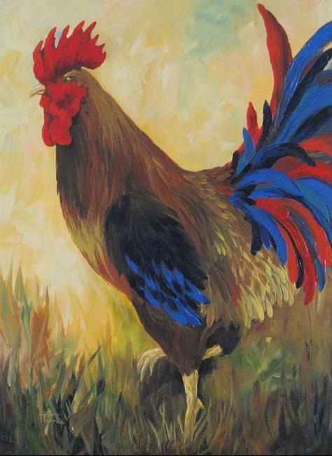 Art: Danette's Rooster by Artist Torrie Smiley