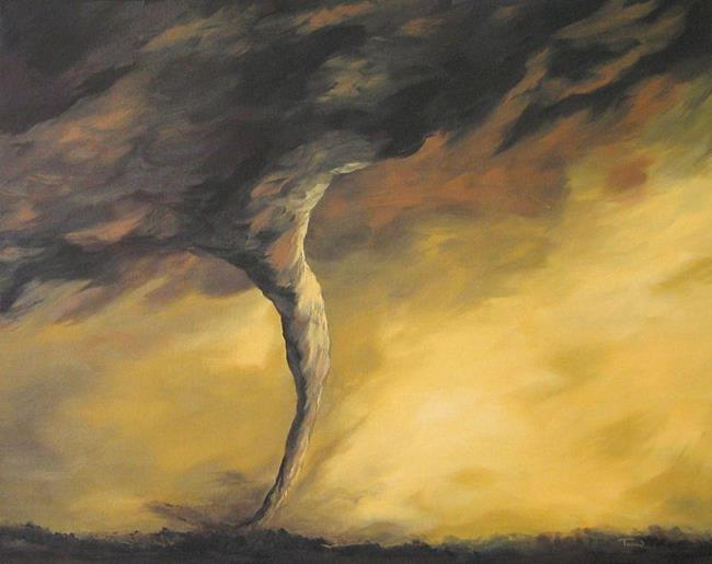 Art: Kansas Tornado by Artist Torrie Smiley