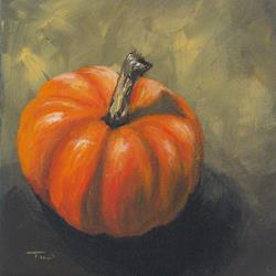 Art: Pumpkin by Artist Torrie Smiley