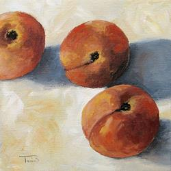 Art: More Georgia Peaches by Artist Torrie Smiley