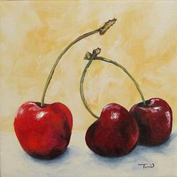 Art: Cherry Trio by Artist Torrie Smiley
