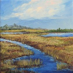 Art: Low Country View by Artist Torrie Smiley