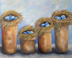 Art: The Family Nests by Artist Torrie Smiley
