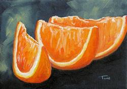 Art: Orange Slices by Artist Torrie Smiley