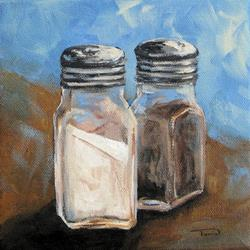 Art: Salt and Pepper IV by Artist Torrie Smiley