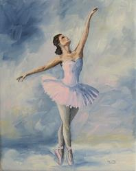 Art: Ballerina 001 by Artist Torrie Smiley