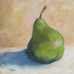Art: The Lonely Pear by Artist Torrie Smiley