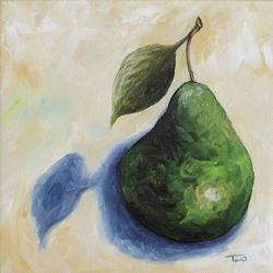 Art: Pear in the Spotlight by Artist Torrie Smiley