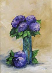 Art: Hydrangeas by Artist Torrie Smiley