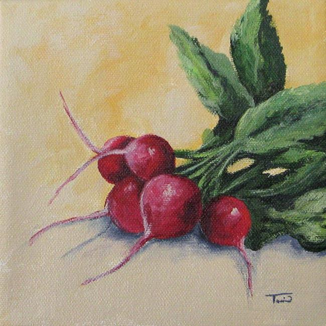 Art: Radishes by Artist Torrie Smiley