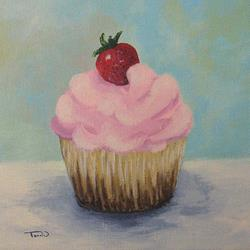Art: Cupcake 007 by Artist Torrie Smiley