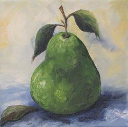 Art: Another Green Pear by Artist Torrie Smiley
