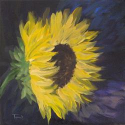 Art: Sunflower I by Artist Torrie Smiley