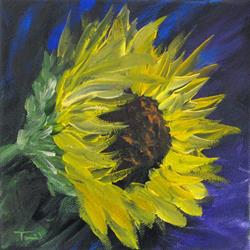 Art: Sunflower II by Artist Torrie Smiley