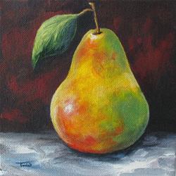 Art: September Pear II by Artist Torrie Smiley