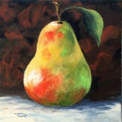 Art: September Pear IV by Artist Torrie Smiley